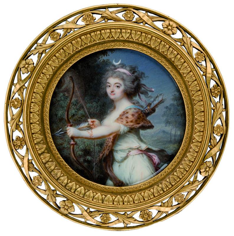 Miniaturen der Zeit Marie Antoinettes