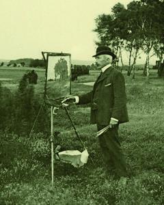 Der Landschaftsmaler Friedrich Schwinge