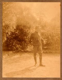 Hermann Löns als Jäger