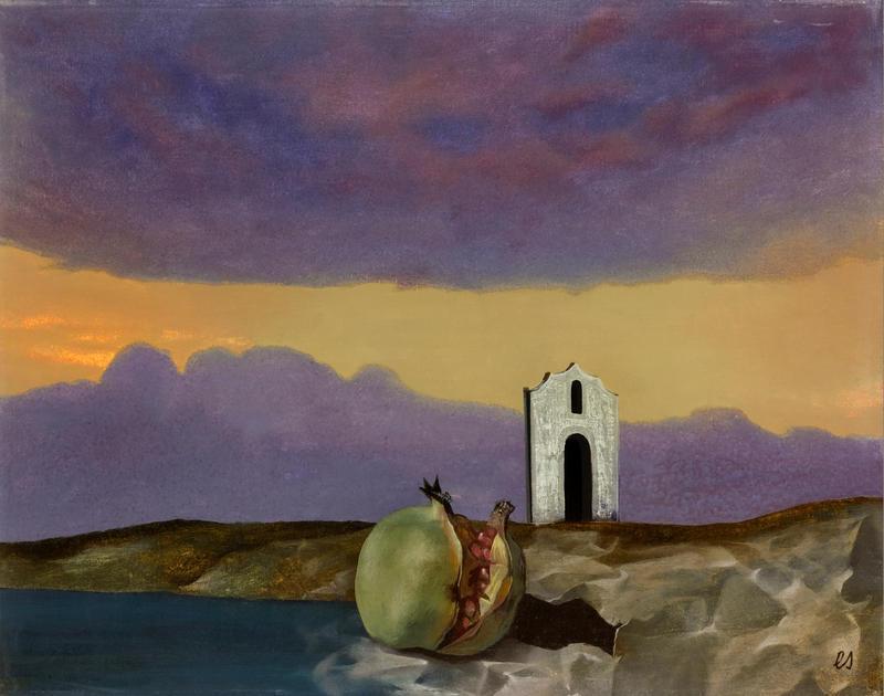 EBERHARD SCHLOTTER Playa Granadella, 1971, Öl auf Leinwand