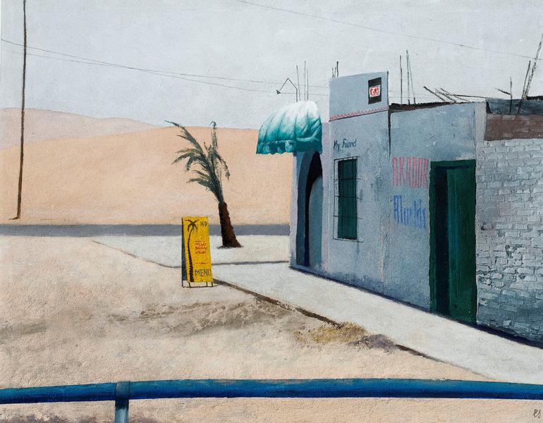 EBERHARD SCHLOTTER Beginn der Paracas Wüste 1999