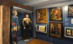 Das Bild des Bauern - Trachtenfiguren von Wilhelm Bomann