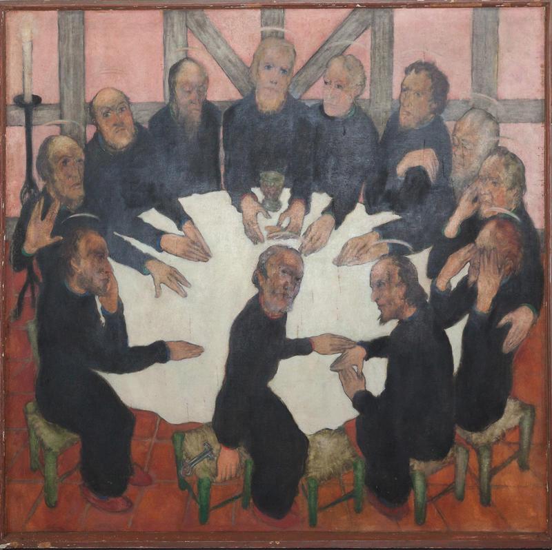 Erich Klahn, Abendmahls-Altar Abbehausen