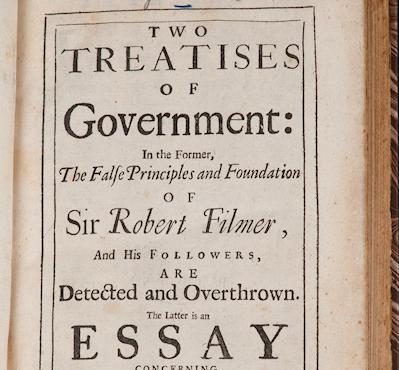 John Locke: Two Treatises Of Government, 1698