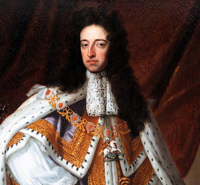 König Wilhelm III . von England