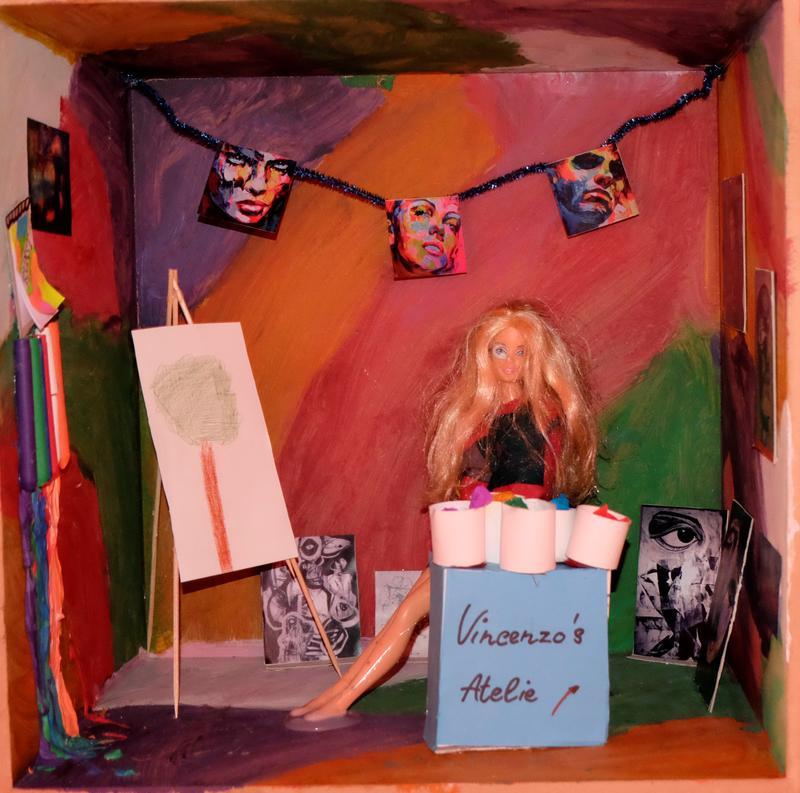 Vincenzo, 11 Jahre alt Vincenzo's Atelier