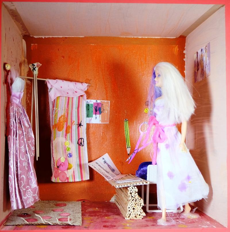 Barbie Amara 9 Jahre - Das Modeatelier