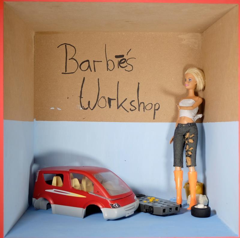 Barbie Sexy Mechanikerin