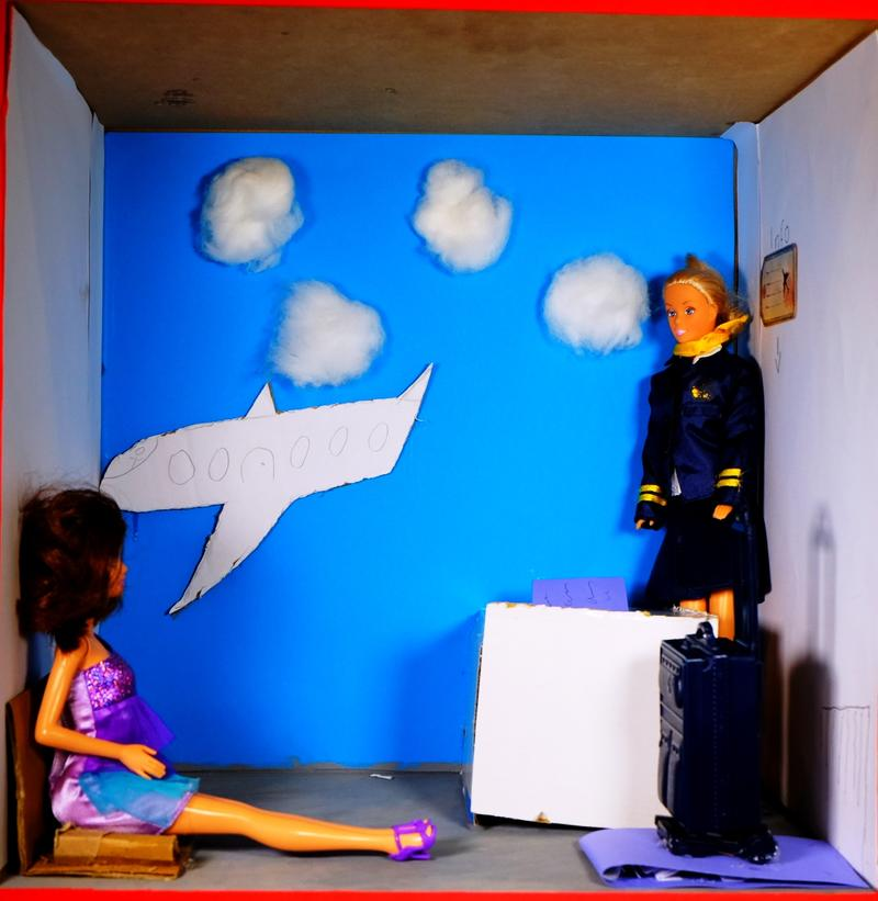 Barbie Busy Barbie als Stewardess
