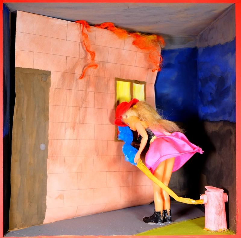 Barbie Beruf Feuerwehrfrau