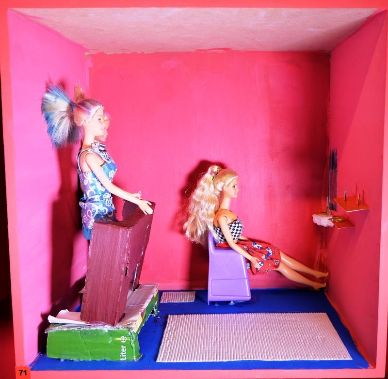 Barbie-Boxen 3. Durchgang