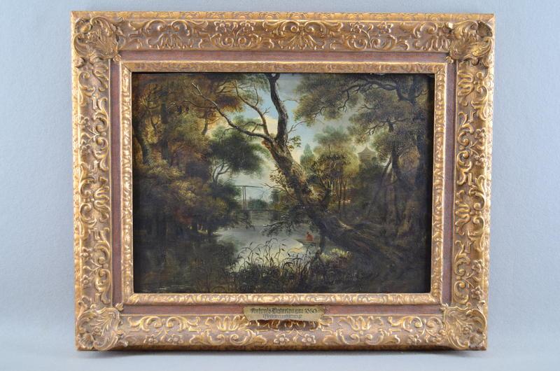 Gemälde »Waldlandschaft« aus der Sammlung Jaffé, Berlin