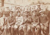 Britische Zivilgefangene im Lager Celle-Schloss
