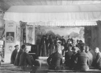 Theateraufführung im Cellelager Scheuen