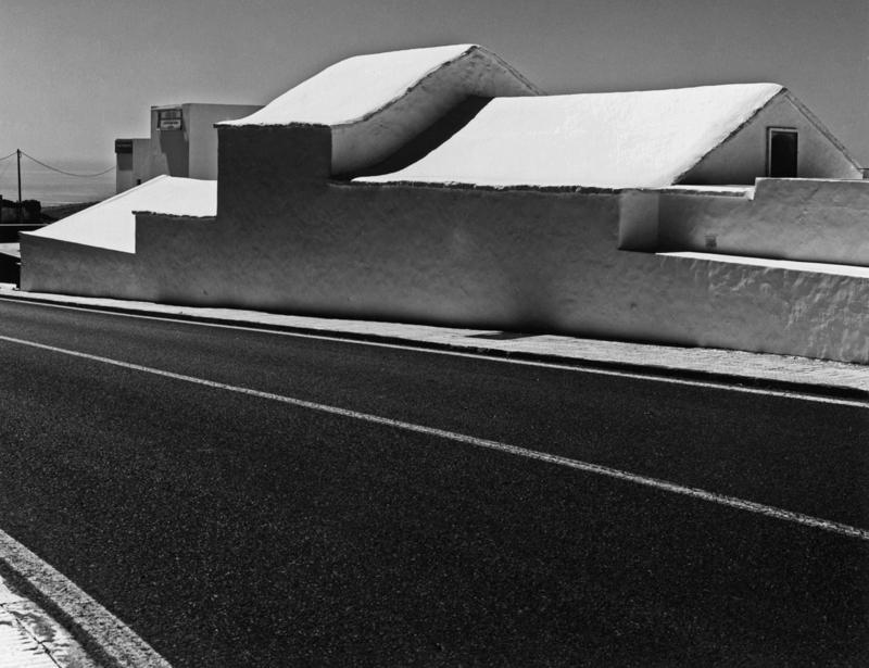 Archaische Stufenhaus-Architektur Tias Lanzarote 2014
