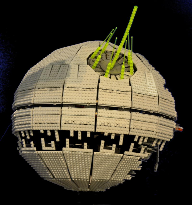 Raumschiffwelten aus LEGO® Bausteinen