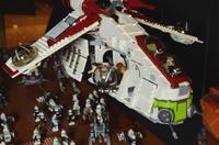 Raumschiffwelten aus LEGO® Bausteinen - Stein auf Stein aus der Sammlung Lange