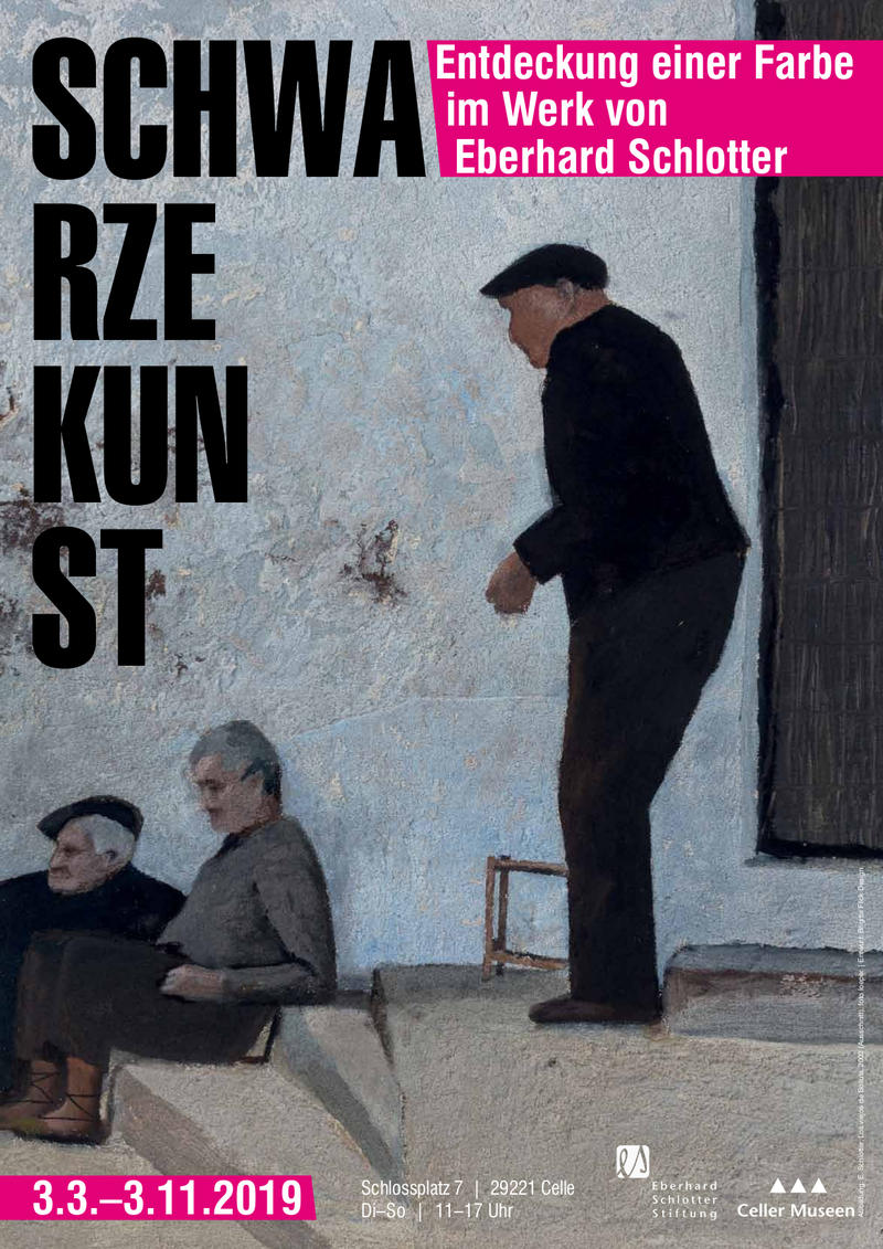 Plakat Schwarze Kunst