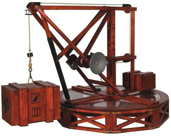 DA VINCI 500 - Bewegende Erfindungen