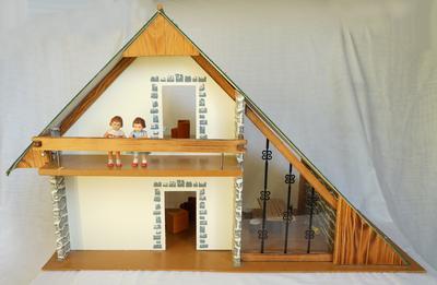 echt klein! Minikosmos Puppenhaus